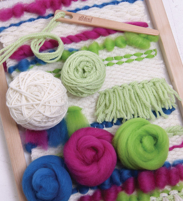Ashford Weaving Starter Kit Brights