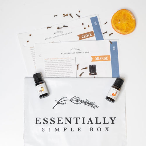 Orange and Clove Essential Oils (November 2019)