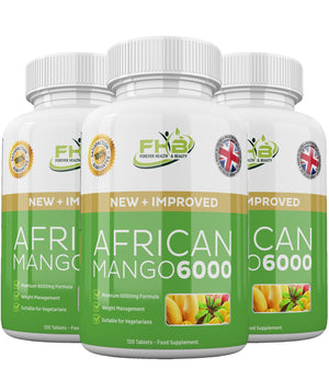 African Mango 6000 Leptin Fat Burner Lose Weight Fast 360 High Strength Diet Pills