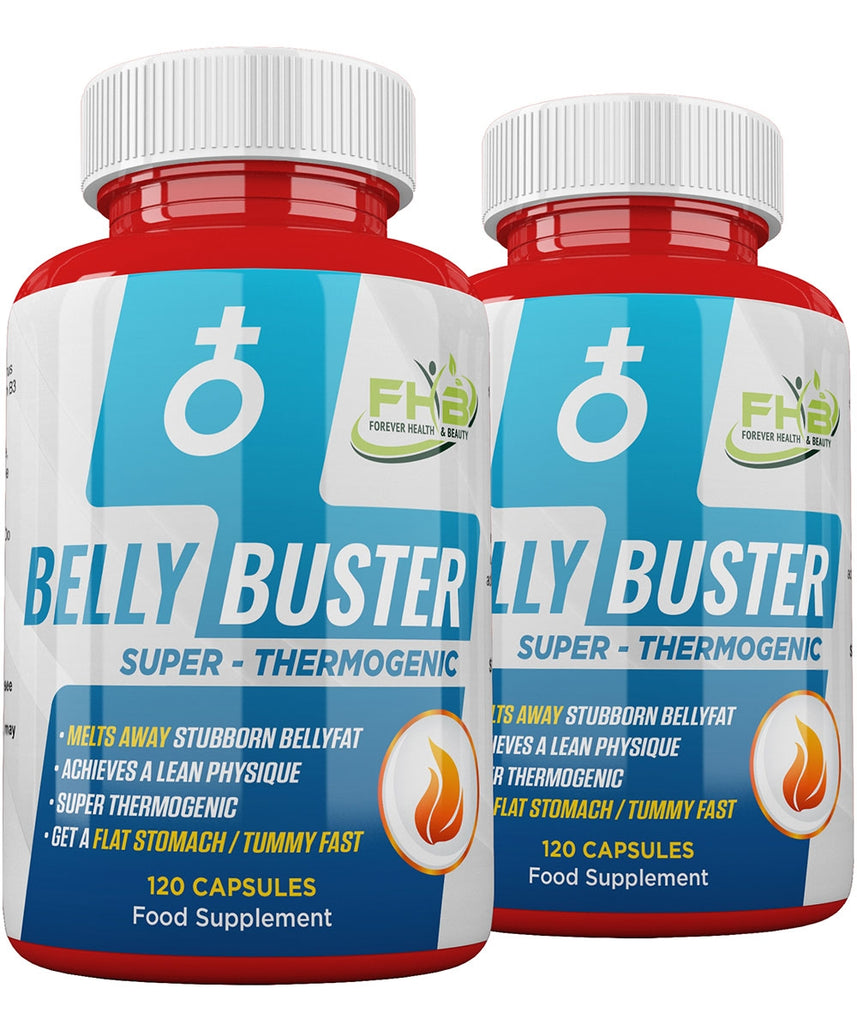 Belly Buster - Super Thermogenic - Melts Away Stubborn Bellyfat - 240 Capsules