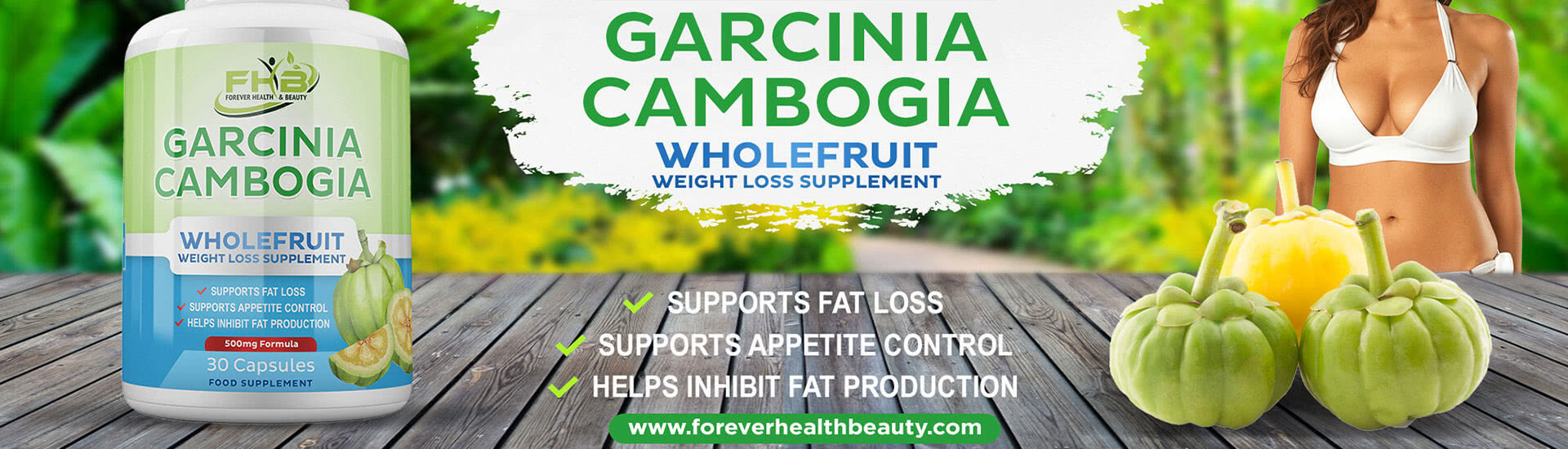 Garcinia Cambogia Weight Loss, Fat Burning and Diet Supplement
