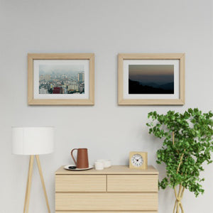 two art prints on a wall