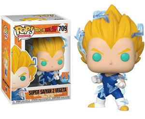 Dragon Ball Z: Super Saiyan 2 Vegeta Pop Figure PX Exclusive Common