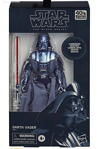 Star Wars The Black Series Carbonized Collection Darth Vader Toy 6-Inch-Scale The Empire Strikes Back Collectible Action Figure (Amazon Exclusive)