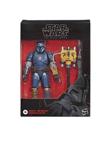 Star Wars The Black Series Heavy Infantry Mandalorian 6-inch Action Figure - Exclusive