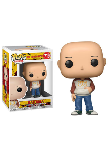 Main Content POP! ANIME: ONE PUNCH MAN- CASUAL SAITAMA FIGURE