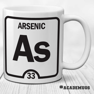 Arsenic Element Mug