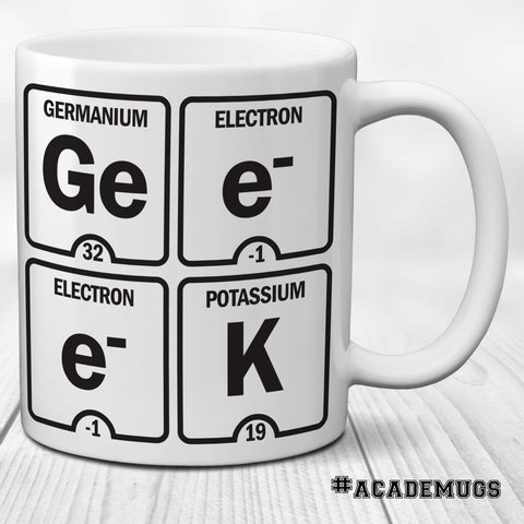 Geek Table of Elements Mug