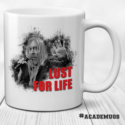 Iggy Pop Lust for Life Mug