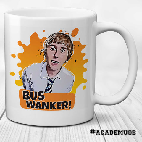 Bus Wanker Inbetweeners Mug