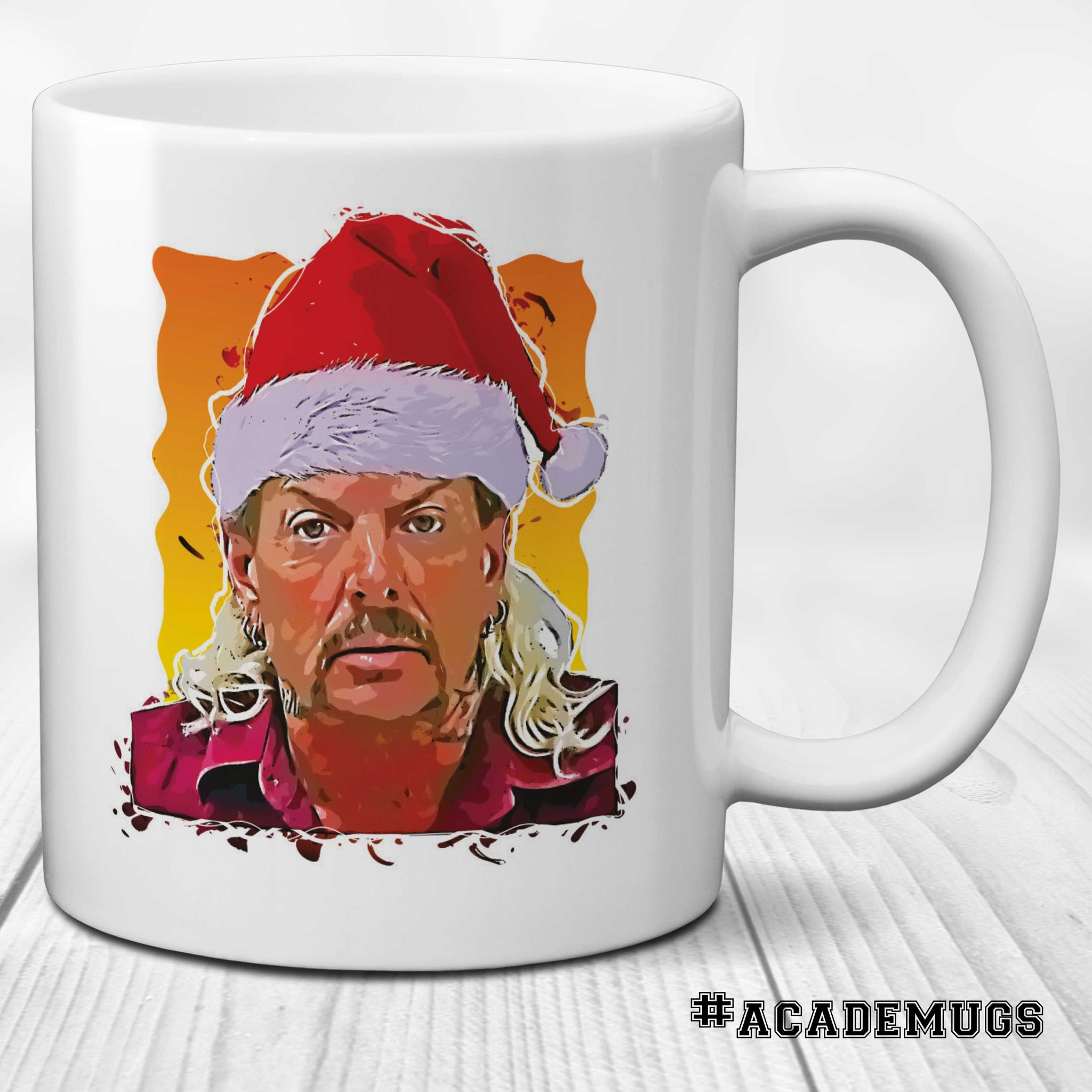 Joe Exotic Santa Tiger King Mug