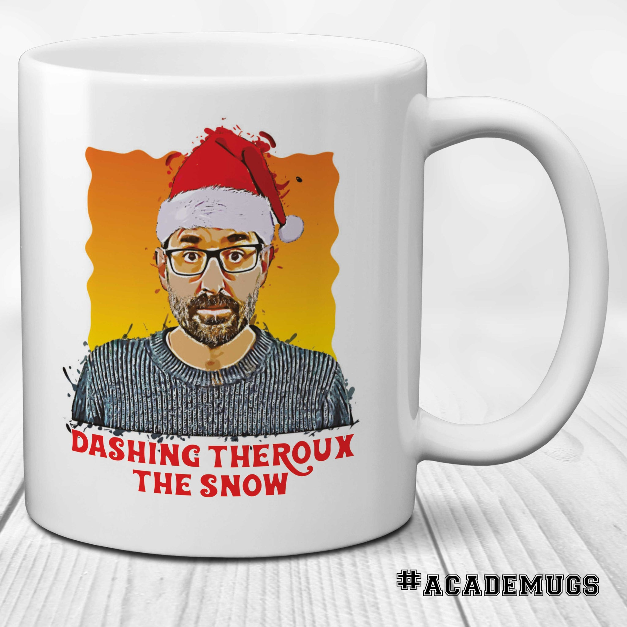 Louis Theroux Santa Mug
