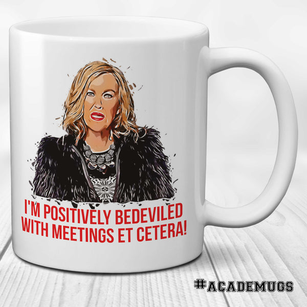 Positively Bedeviled by Meetings Mug