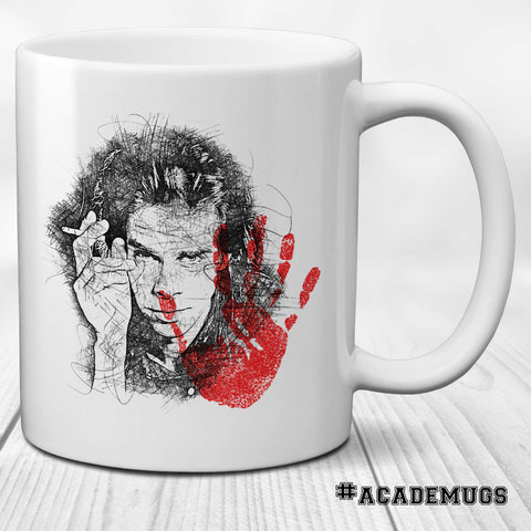 Nick Cave Red Right Hand Mug