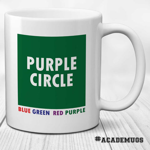 Stroop Effect Mug: Purple Square