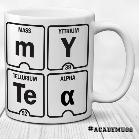 Periodic Table Mug: My Tea