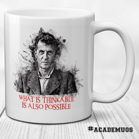 Wittgenstein Mug - What is thinkable is also possible