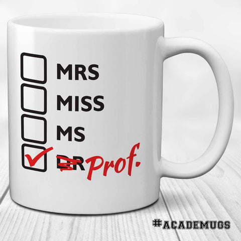 Women Professor Mug