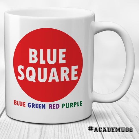 Stroop Effect Mug: Blue Square