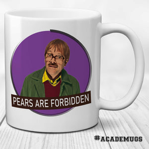 Friday Night Night Dinner: Pears or Forbidden Mug