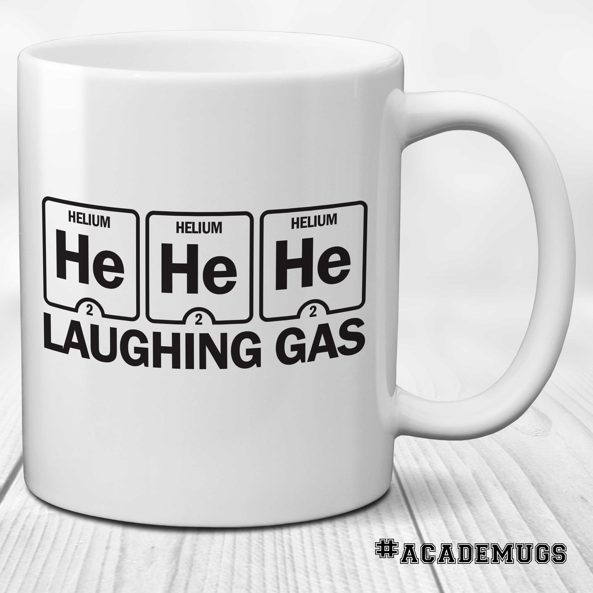Periodic Table Mug: Laughing Gas