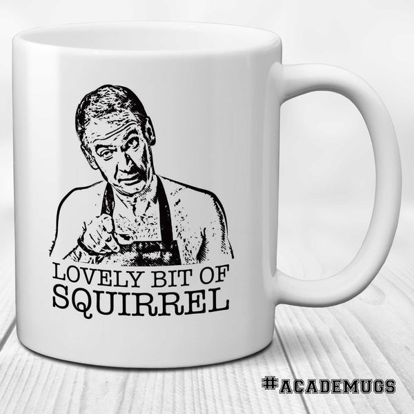 Friday Night Night Dinner Lovely Bit of Squirrel Martin Mug