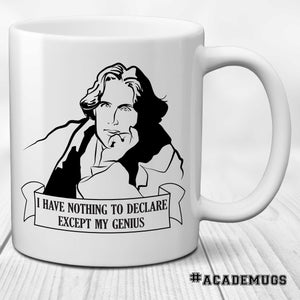 Oscar Wilde: I have nothing to declare except my genius