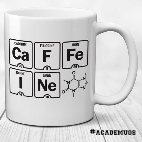 Caffeine: Elements Coffee Mug