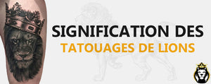 Significations Tatouages Lion