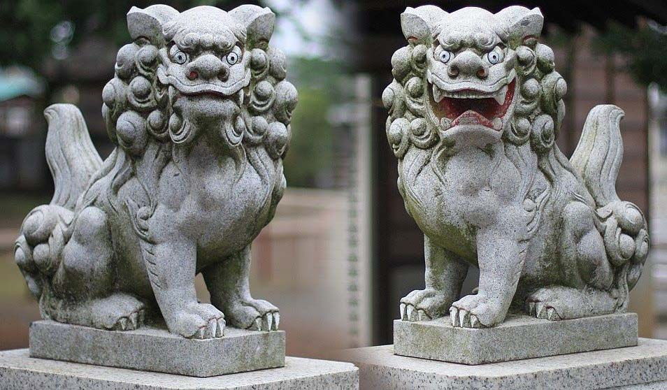 Komainu Lion