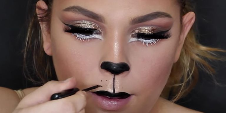 Maquillage Lion Etape 10