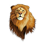 sticker tete de lion