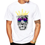 t shirt lion couronne