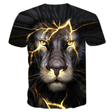 tee shirt de dos lion