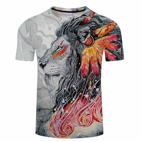 tee shirt animaux sauvages