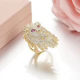 Bague Animal Luxe