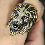 Bague Criniere Or