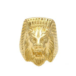 Bague Lion Doree