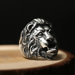 Bague Lion Sterling