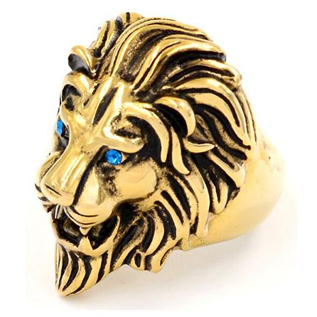 Bague Or Tete De Lion
