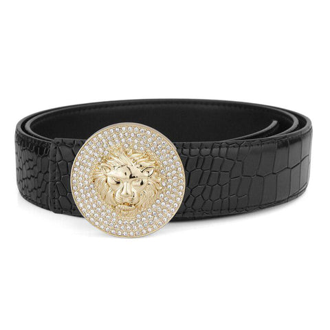 Ceinture Tete De Lion Or