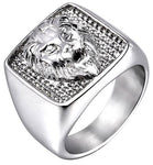 Chevaliere Homme Lion