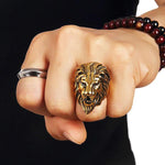 Chevaliere Lion Or