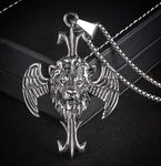 Collier Lion Ange