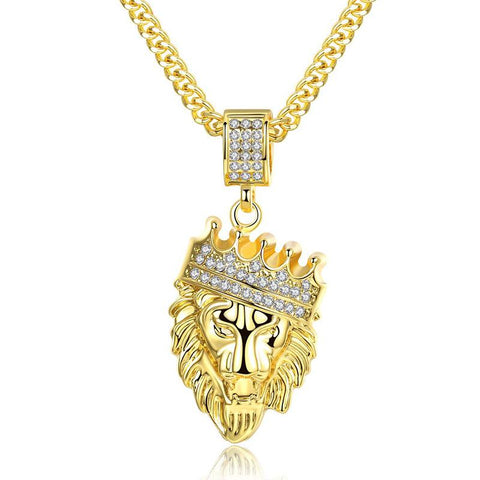 Collier Lion Couleur Or