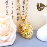 Collier Lion Felin