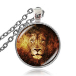 Collier Lion Feu