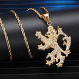 Collier Lion Flamand