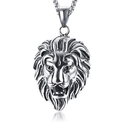 Collier Lion Homme