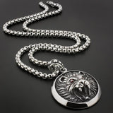Collier Lion Motard